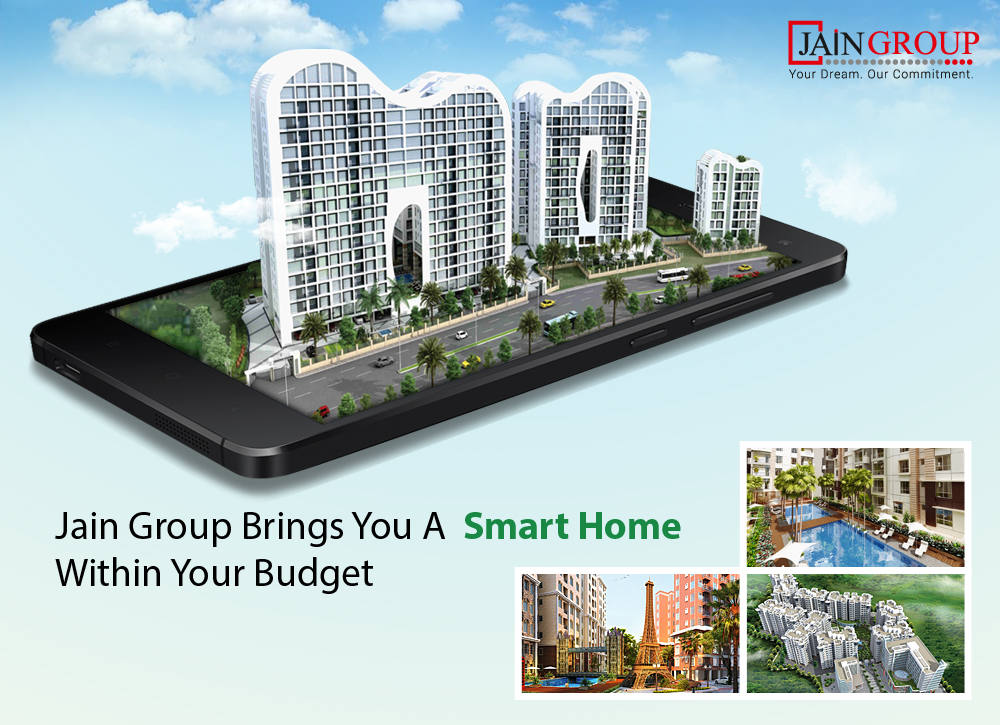 Jain Group Brings You A Smart Home Within Your Budget