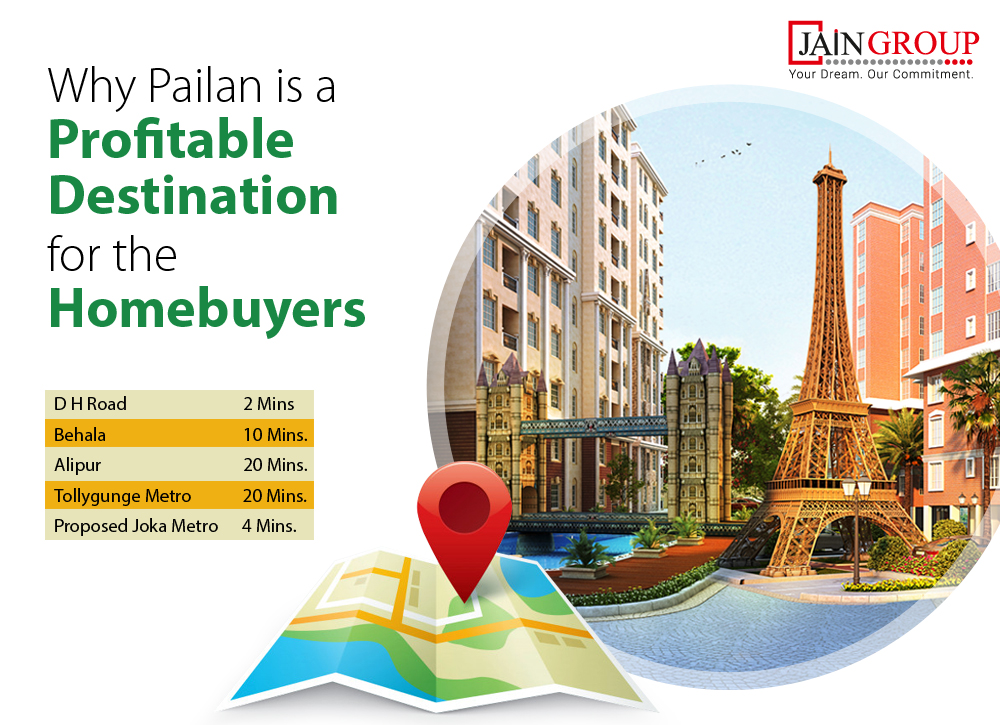 Why Pailan is a Profitable Destination for the Homebuyers